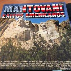 Discos de vinilo: MANTOVANI (EXITOS AMERICANOS) LP ESPAÑA 1977 (VIN-A2). Lote 121542919