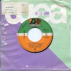 Disques de vinyle: TED NUGENT / ATADO POR AMOR / LEAN MEAN R&R MACHINE (SINGLE PROMO 1984). Lote 121543815