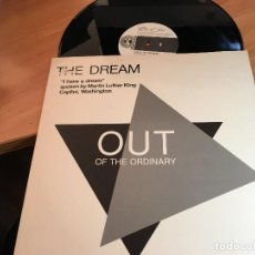 Discos de vinilo: OUT OF THE ORDINARY (THE DREAM) MAXI ESPAÑA 1989 (VIN-A2). Lote 121544647