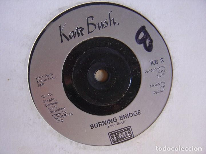 KATE BUSH - burning bridge + cloudbusting - SINGLE UK 1985 - EMI