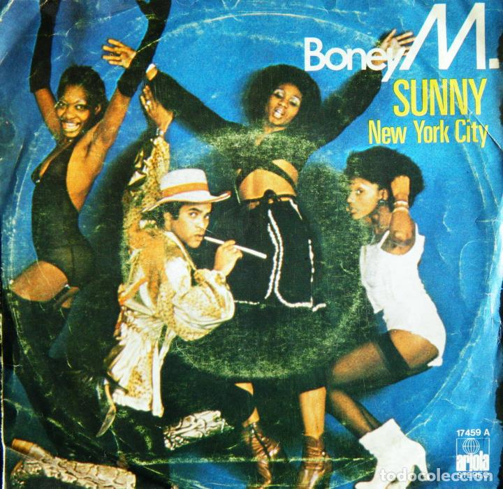 BONEY M. / SUNNY. - NEW YORK CITY. (Música - Discos - Singles Vinilo - Funk, Soul y Black Music)