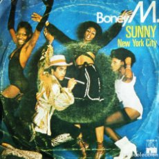 Discos de vinilo: BONEY M. / SUNNY. - NEW YORK CITY.. Lote 121549259