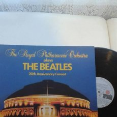 Discos de vinilo: THE ROYAL PHILHARMONIC ORCHESTRA - PLAYS THE BEATLES 20TH ANNIVERSARY CONCERT. Lote 121564731