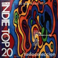 Discos de vinilo: VARIOUS - INDIE TOP 20 VOLUME XI (2XLP, COMP) . Lote 121568255