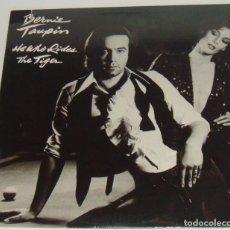 Discos de vinilo: LP - BERNIE TAUPIN - HE WHO RIDES THE TIGER - PRECINTADO - MADE IN USA - ELTON JOHN. Lote 121572279