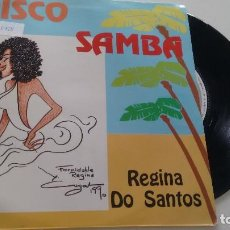 Discos de vinilo: SINGLE (VINILO) DE REGINA DOS SANTOS AÑOS 80. Lote 121573035