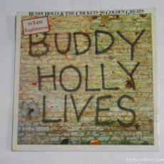 Discos de vinilo: BUDDY HOLLY & THE CRICKETS. LIVE. 20 GOLDEN GREATS LP. TDKLP. Lote 121592279