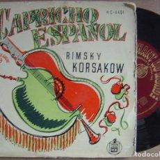Discos de vinilo: RIMSKY KORSAKOW - CAPRICHO ESPAÑOL - HISPAVOX. Lote 121603607