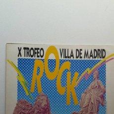 Discos de vinilo: X TROFEO VILLA ROCK DE MADRID ( DRAMA ). Lote 121611123