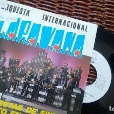 Discos de vinilo: SINGLE (VINILO) DE ORQUESTA INTERNACIONAL CARAVANA AÑOS 80. Lote 121611823