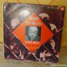 Discos de vinilo: SIDNEY BECHET: JAZZ- EDICION ORIGINAL SPAIN-RADIO BARCELONA 1965. Lote 121626707