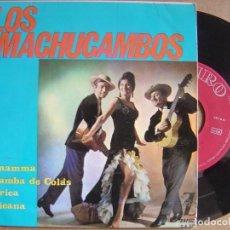 Discos de vinilo: LOS MACHUCAMBOS - LA MAMMA - EP 1964 - ZAFIRO. Lote 121630839