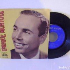 Discos de vinilo: ENRIQUE MONTOYA - TE QUIERO + 3 / REGAL - AÑO 1962. Lote 121632775
