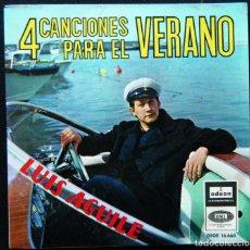 Discos de vinilo: LUIS AGULÉ / 4 CANCIONES PARA EL VERANO.. Lote 121637595