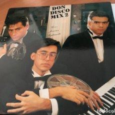 Discos de vinilo: DON DISCO MIX 2 2 LP ESPAÑA (VIN-A3). Lote 121638587