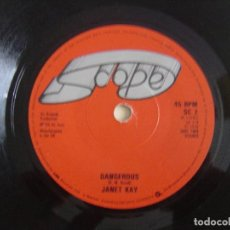 Dischi in vinile: JANET KAY - SILLY GAMES + DANGEROUS - SINGLE UK 1979 - SCOPE. Lote 121639471
