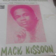 Discos de vinilo: DISCO VINILO MACK KISSOON. Lote 121641330