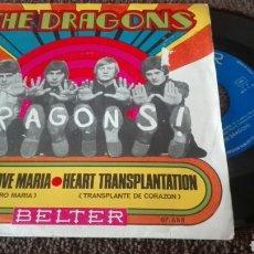 Discos de vinilo: DISCO VINILO THE DRAGONS. Lote 121643327