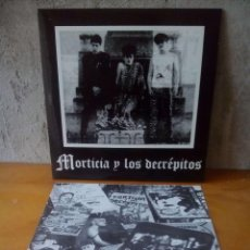 Discos de vinilo: MORTICIA Y LOS DECRÉPITOS.2005. VINILO PURPURA.PUNK.. Lote 121643435