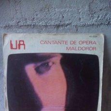 Discos de vinilo: UA-CANTANTE DE ÓPERA.1982.. Lote 121644483