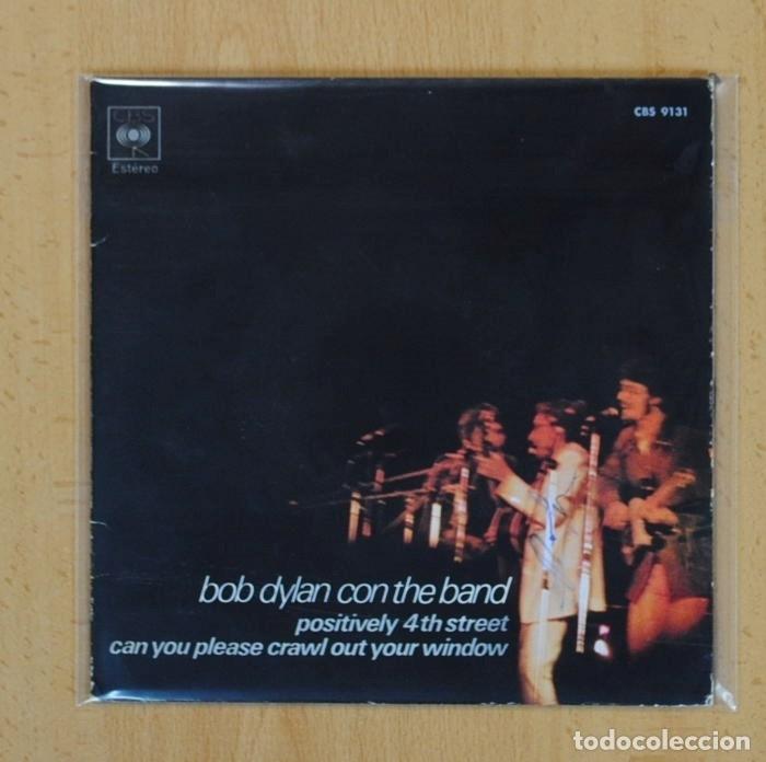 Bob Dylan Con The Band Positively 4th Street Comprar Discos
