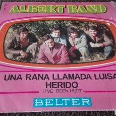 Discos de vinilo: DISCO VINILO ALBERT BAND. Lote 121645899