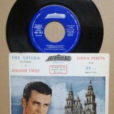 Discos de vinilo: MANOLO MIRAS Y SU CONJUNTO.GESIHA,LINDA PEBETA. Lote 121646019