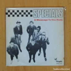 Discos de vinilo: THE SPECIALS - A MESSAGE TO YOU RUDY / NITE KLUB - SINGLE. Lote 121646114