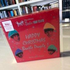 Discos de vinilo: CAJA HAPPY CHRISTMAS BEATLE PEOPLE! (THE CHRISTMAS RECORDS). Lote 121647375