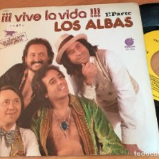 Discos de vinilo: LOS ALBAS (VIVE LA VIDA) SINGLE ESPAÑA 1978 (EPI10). Lote 121649547