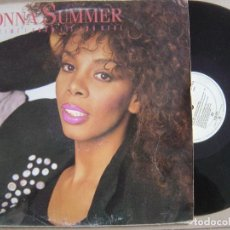 Discos de vinilo: DONNA SUMMER THIS TIME I KNOW ITS FOR REAL - MAXI SINGLE 1989 - WEA. Lote 121650199