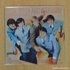 Discos de vinilo: THE FIVE AMERICANS - DISTRITO POSTAL / SONIDO DE AMOR - SINGLE. Lote 121650304