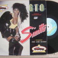 Discos de vinilo: SINITTA - GTO - MAXI SINGLE 1987 - FONOMUSIC. Lote 121650623