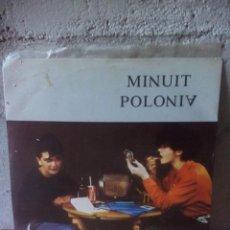 Discos de vinilo: MINUIT POLONIA- RADIO ROCKOLA.1983. Lote 121651907