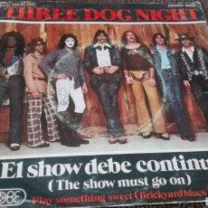 Discos de vinilo: DISCO VINILO THREE DOG NIGHT. Lote 121652455
