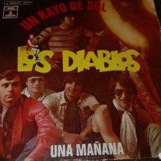 Discos de vinilo: DISCO VINILO LOS DIABLOS. Lote 121653219