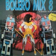 Discos de vinilo: BOLERO MIX 8 - DOBLE LP . GATEFOLD - BUEN ESTADO. Lote 121654391