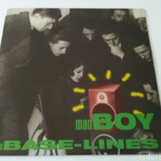 Discos de vinilo: THE BASE-LINES - MAN BOY. Lote 121655902