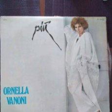 Discos de vinilo: ORNELLA VANONI – PIÙ. LP. POP. CHANSON.. Lote 121660887