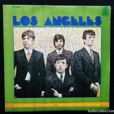 Discos de vinilo: LOS ANGELES / DIME, DIME. - MONOTONIA.. Lote 121662527