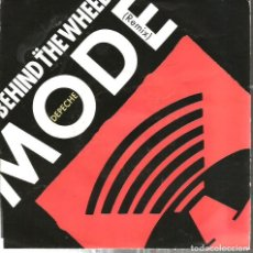 Discos de vinilo: SG DESPECHE MODE : BEHIND THE WHEEL ( REMIX ). Lote 121668019