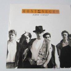 Discos de vinilo: MONTENEGRO - ¡QUE CARAY! 1990 SPAIN SINGLE * PROMO. Lote 121668411