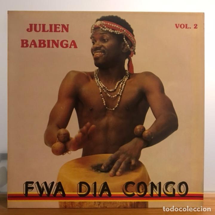 FWA DIA CONGO-JUIIEN BABINGA_ UN DISCOS IMPRESIONANTE (Música - Discos - LP Vinilo - Funk, Soul y Black Music)