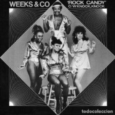 Discos de vinilo: WEEKS & CO. - ROCK CANDY - SALSOUL RECORDS - SALT 103 - UK. Lote 121671691