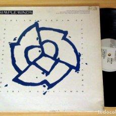 Discos de vinilo: VINILO EP DE - SIMPLE MINDS - THE AMSTERDAN EP.EURPEAN TOUR 1989.VIGIN RECORDS,EDICION LIMTADA. Lote 121673751