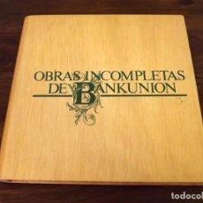 Discos de vinilo: ALBUM EN CAJA, OBRAS DE BANKUNIÓN, 5 LPS, VINILO, 1977. Lote 121708475