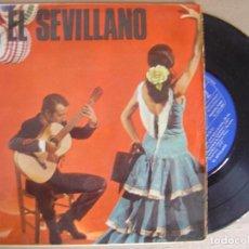 Discos de vinilo: EL SEVILLANO - FANDANGOS - EP 1966 - PHILIPS. Lote 121709087