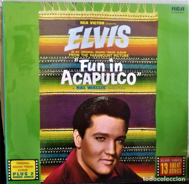 Discos de vinilo: {ELVIS PRESLEY} FUN IN ACAPULCO ? LP ? - - GERMANY / EX/EX - Foto 1 - 121710627
