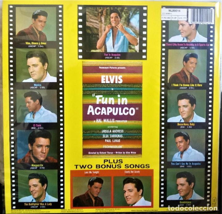 Discos de vinilo: {ELVIS PRESLEY} FUN IN ACAPULCO ? LP ? - - GERMANY / EX/EX - Foto 2 - 121710627