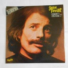 Discos de vinilo: JEAN FERRAT. LES NOCTAMBULES. LA COMMUNE. FEDERICO GARCIA LORCA. 17 ANS. DOBLE LP. TDKDA25. Lote 121711667